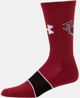 Men's South Carolina UA Crew Socks LIMITED TIME: FREE U.S. SHIPPING 1 Color $14.99