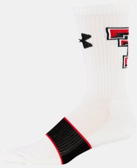 Men's Texas Tech UA Crew Socks LIMITED TIME: FREE U.S. SHIPPING 1 Color $16.99
