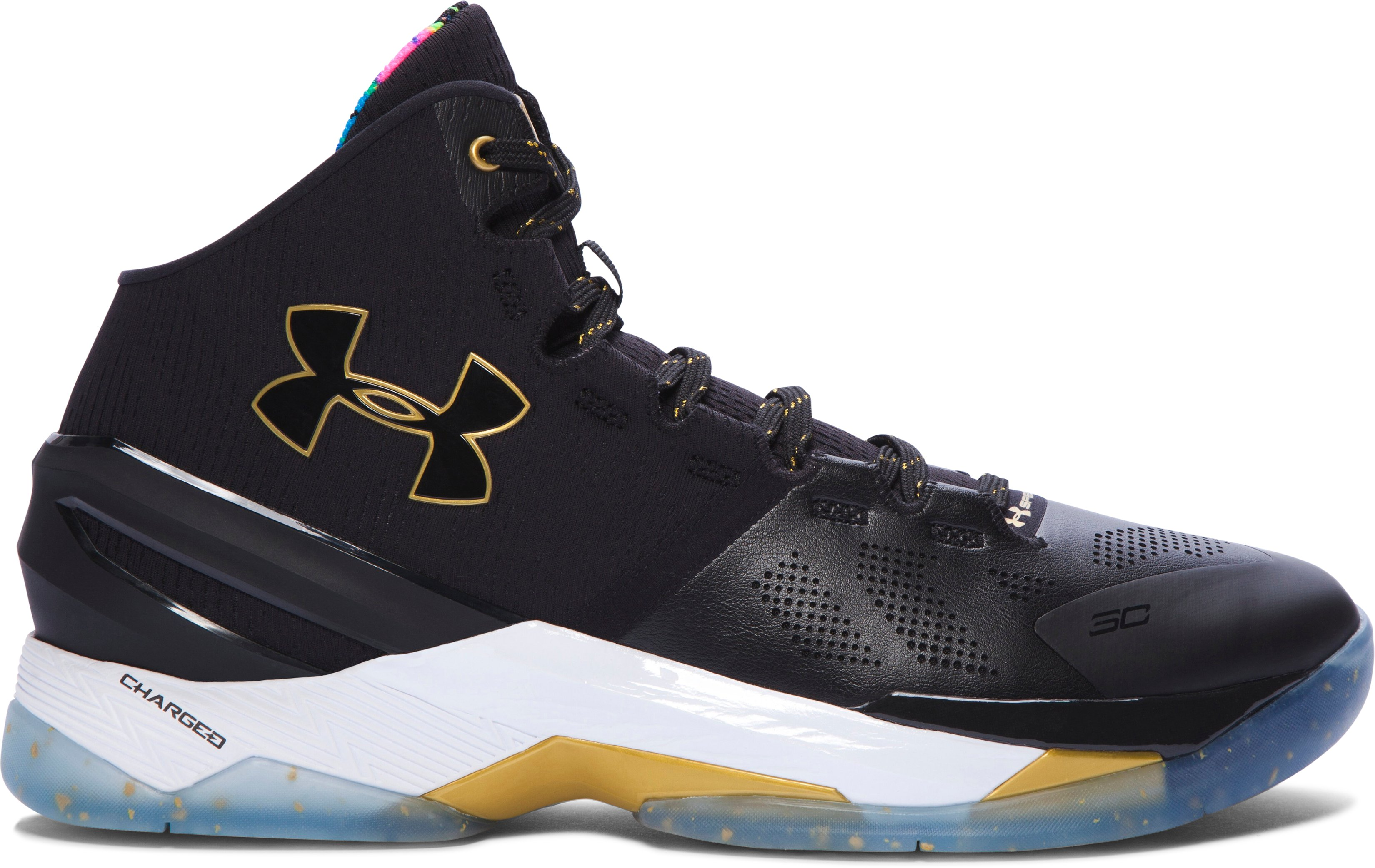 Men's UA Curry Two Limited Edition Basketball Shoes, Black , undefined