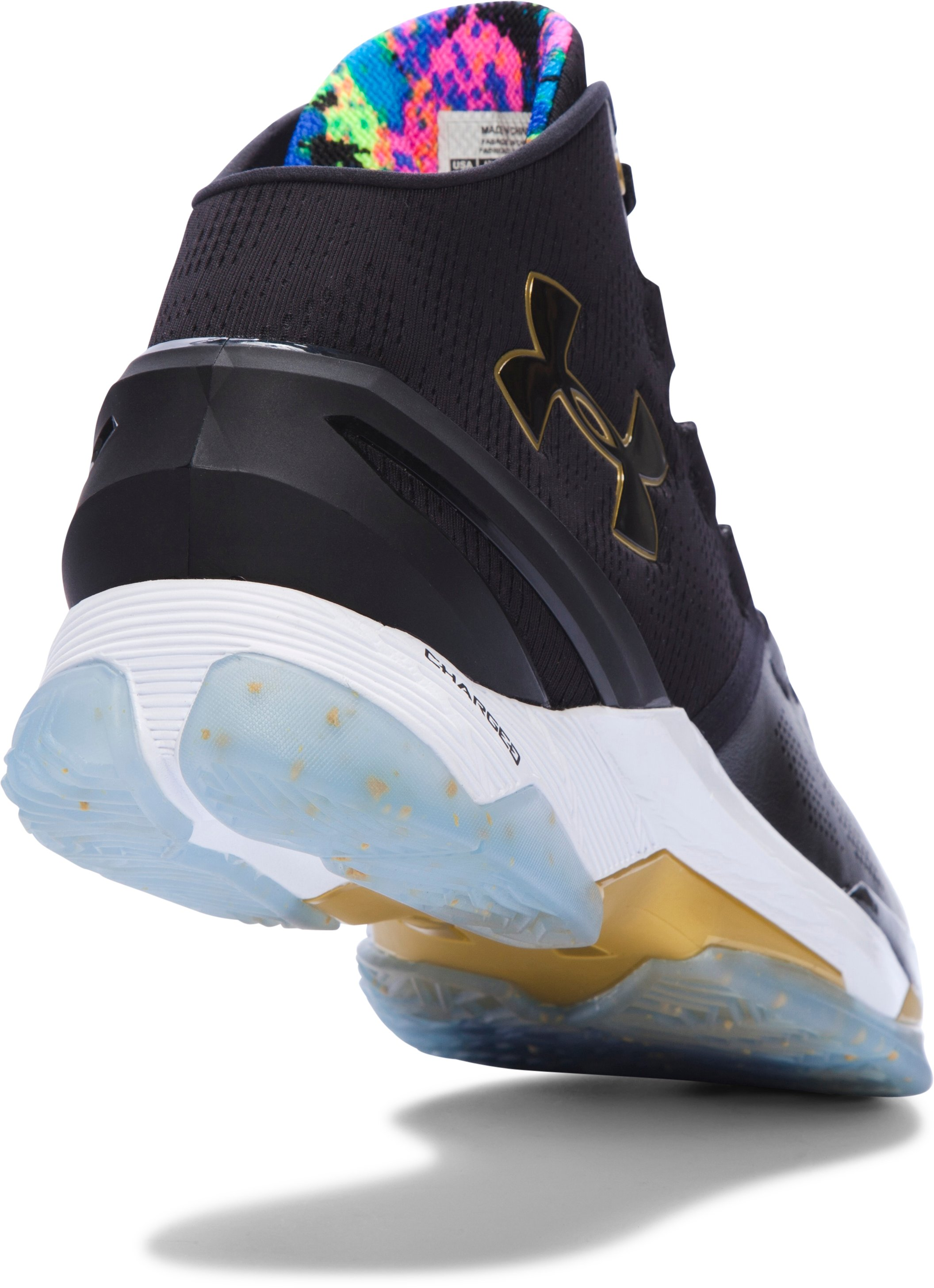 Men's UA Curry Two Limited Edition Basketball Shoes, Black ,