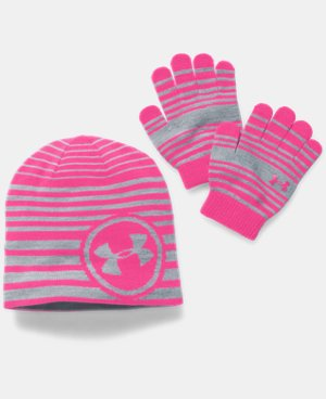 Kids' UA Beanie & Glove Combo Pack LIMITED TIME: FREE U.S. SHIPPING  $29.99