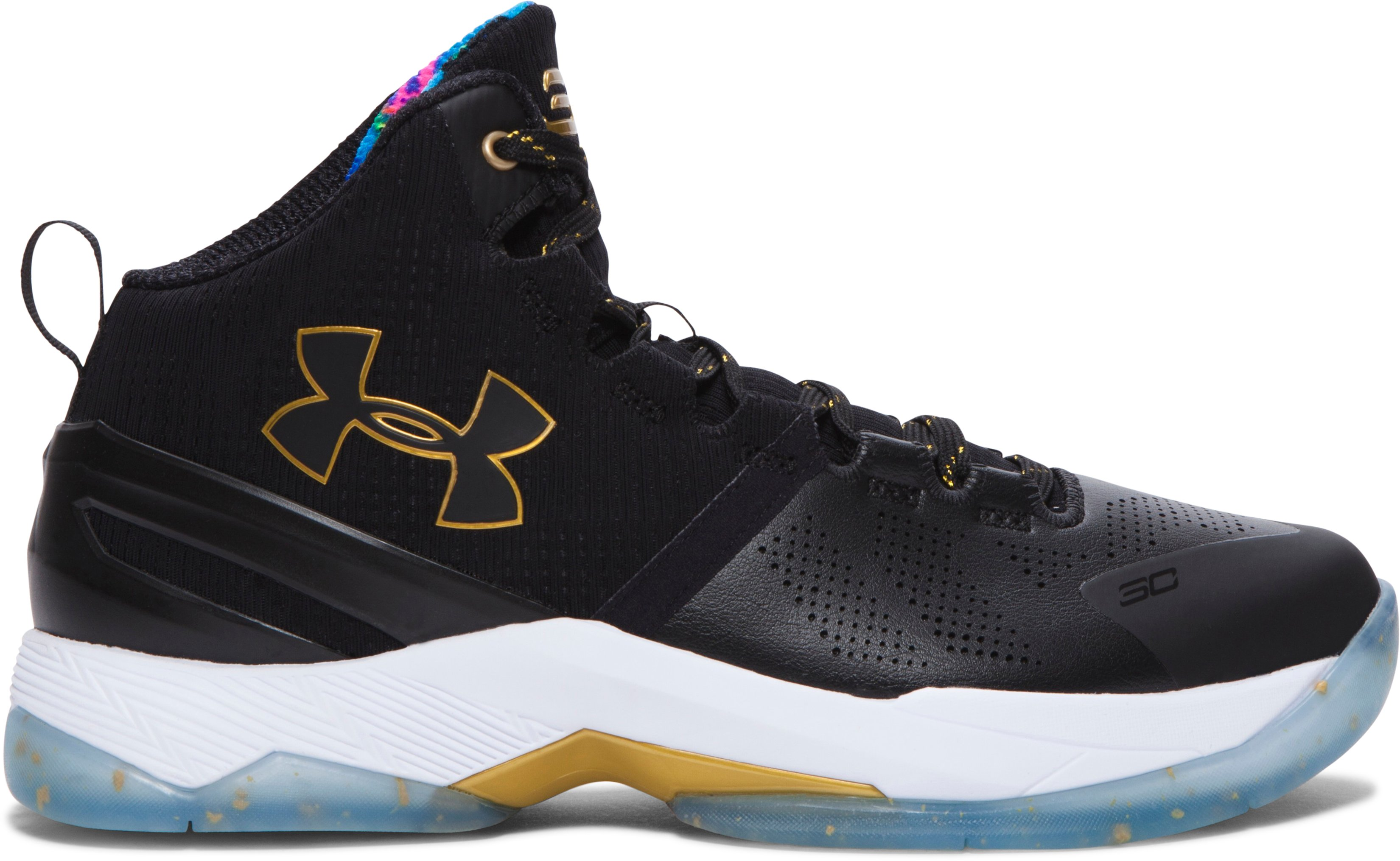 Boys' Grade School UA Curry Two Limited Edition Basketball Shoes, Black