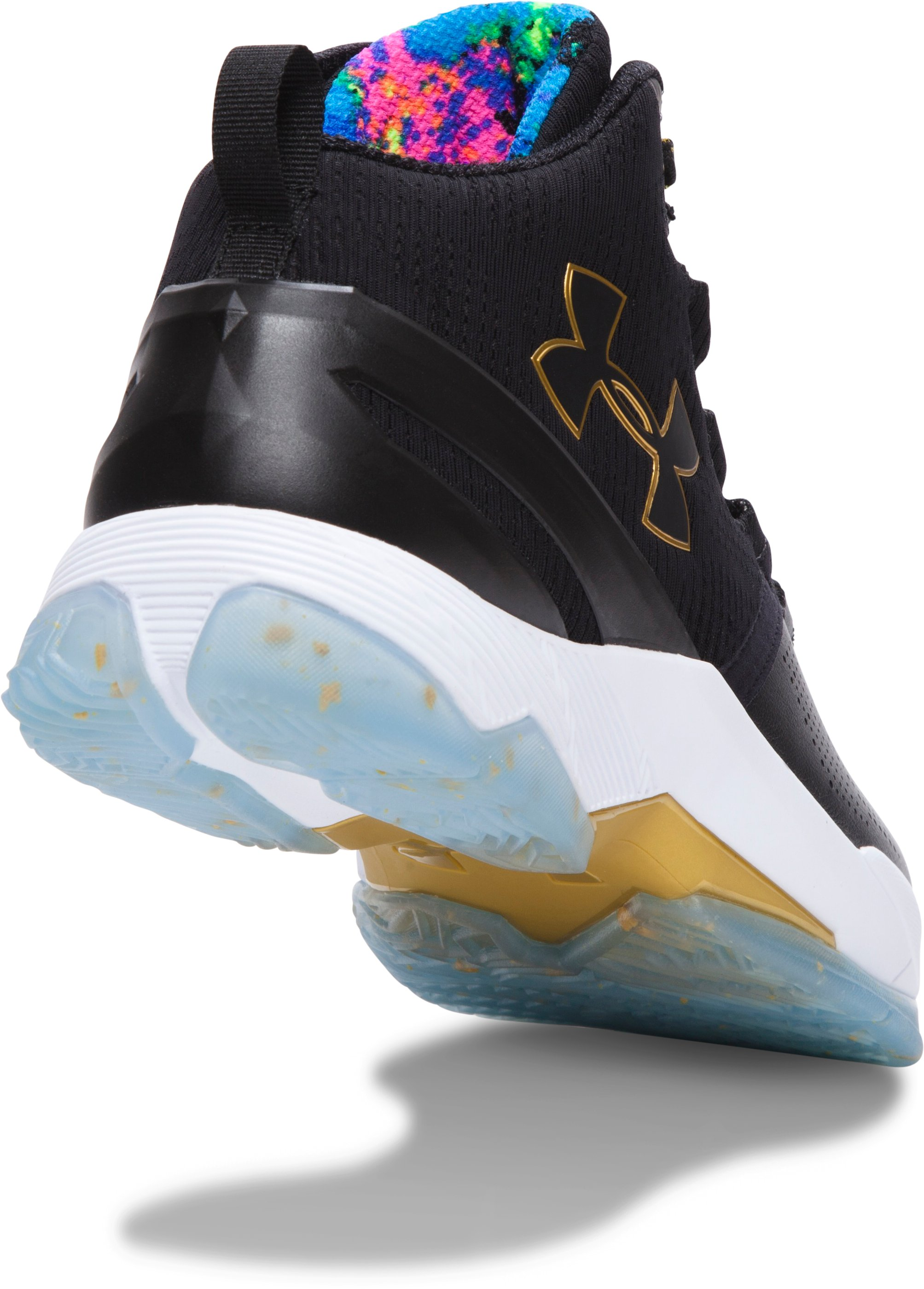 Boys' Grade School UA Curry Two Limited Edition Basketball Shoes, Black ,