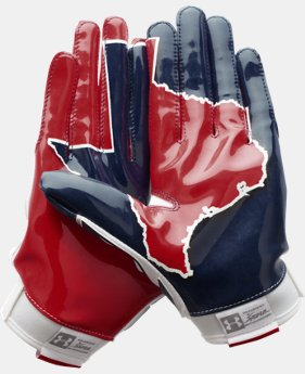 Men's UA Swarm II Pipeline State Pack Football Gloves  4 Colors $24.99