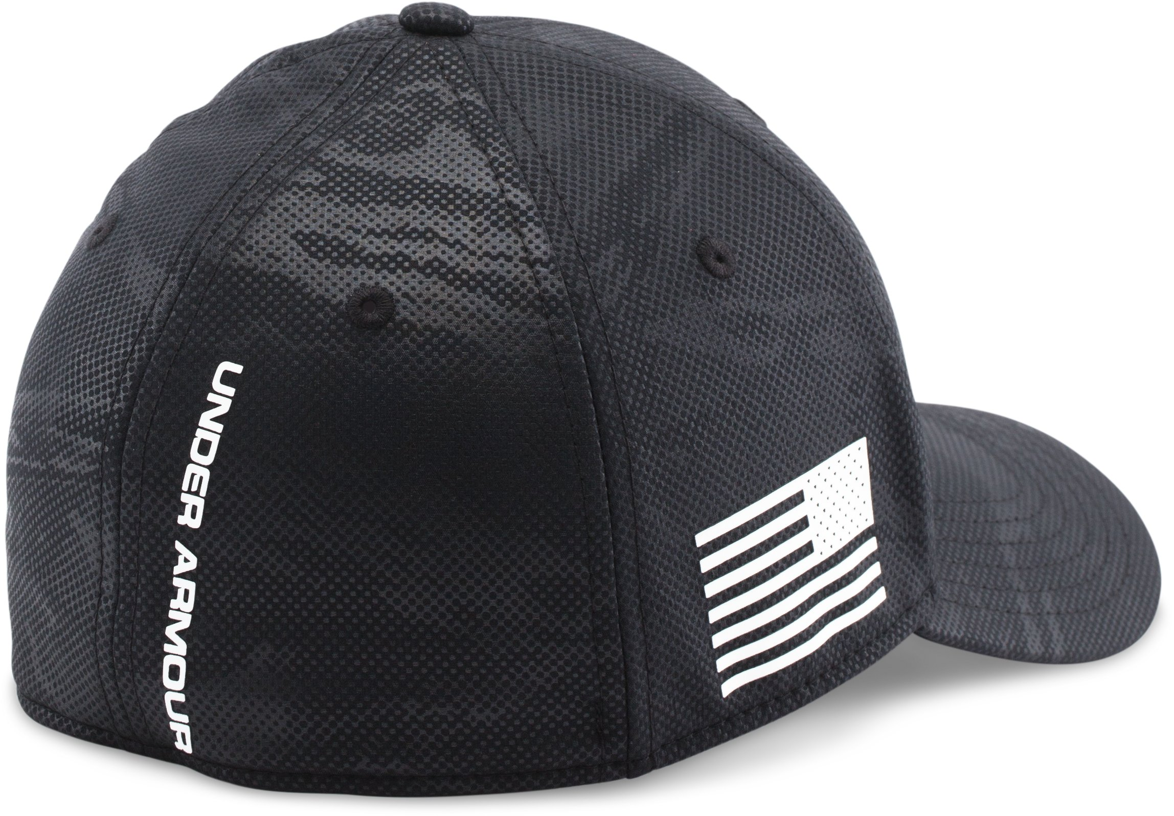 Men's UA Freedom Low Crown Cap, Black ,