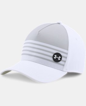 Men's UA Golf Striped Out Cap  1 Color $20.99