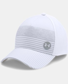 Men's UA Golf Striped Out Cap  2 Colors $27.99