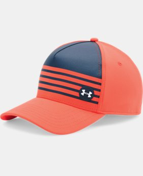 Men's UA Golf Striped Out Cap