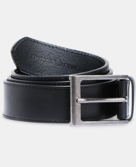 Men's UA Stretch Leather Belt  2 Colors $59.99