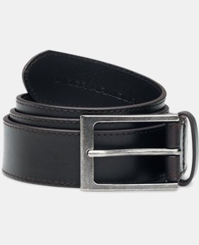 Men's UA Stretch Leather Belt  1 Color $44.99