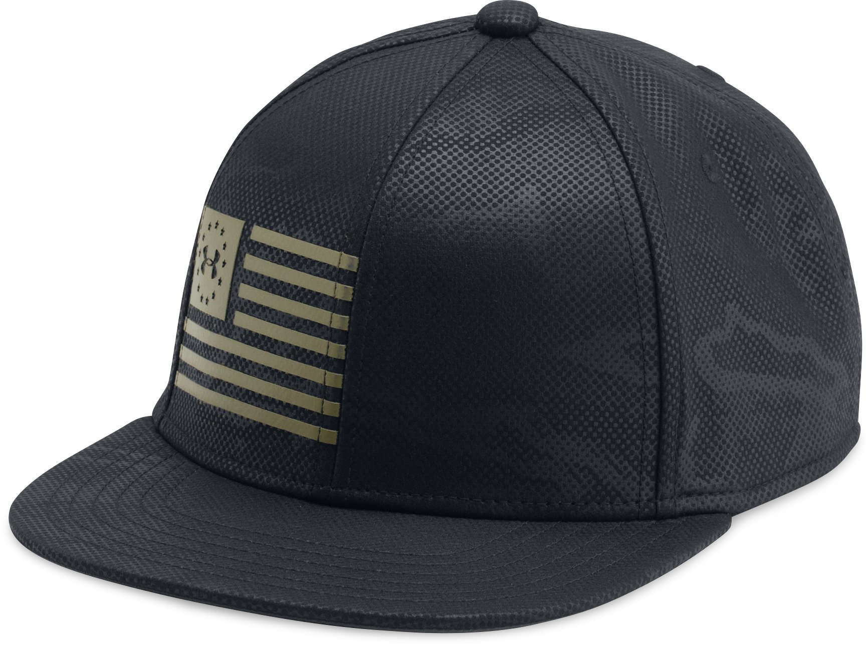 Boys' UA Freedom Snapback Cap, Black