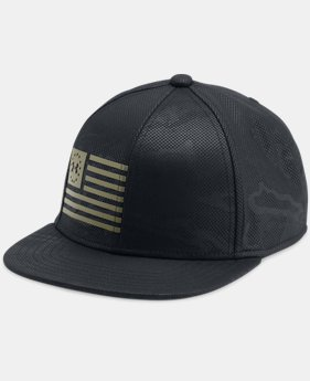New Arrival Boys' UA Freedom Snapback Cap  1 Color $24.99