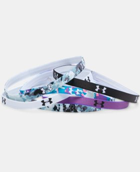 Women's UA Graphic Mini Headbands - 6 Pack  1 Color $12.99