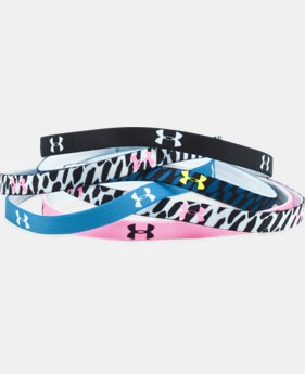 Women's UA Graphic Mini Headbands - 6 Pack   $11.99