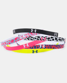 Women's UA Graphic Mini Headbands - 6 Pack  1 Color $11.99