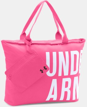 New Arrival Women's UA Power In Pink® Wordmark Tote  1 Color $29.99