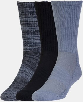 Men's UA Twist Crew Socks 3-Pack