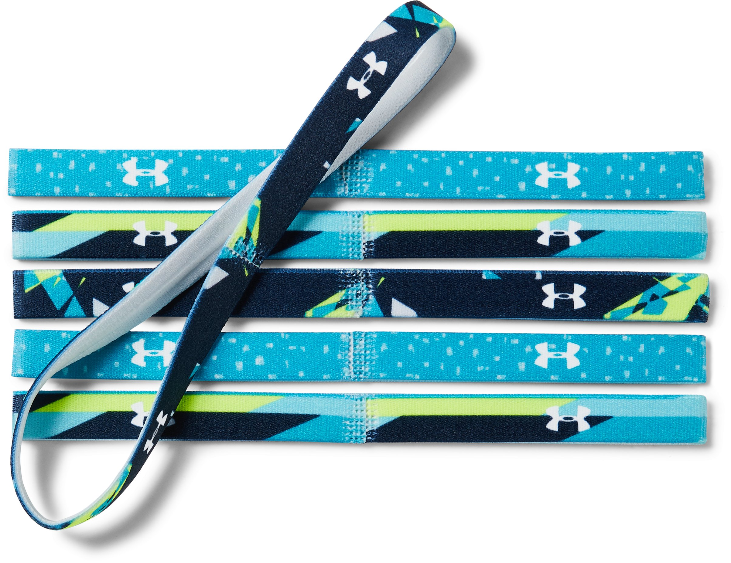 academy headbands Girls' UA Graphic Headbands - 6 Pack Very comfy and don't make her feet hot [This review was collected as part of a promotion.]...Have bought before and they are great....Great features