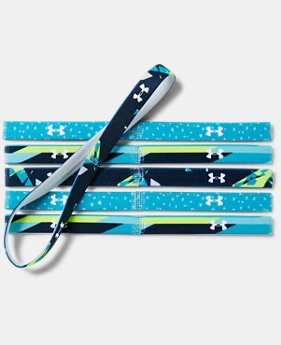 Girls' UA Graphic Headbands - 6 Pack  1  Color Available $14.99