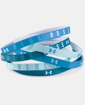 Girls' UA Graphic Headbands - 6 Pack  1 Color $14.99
