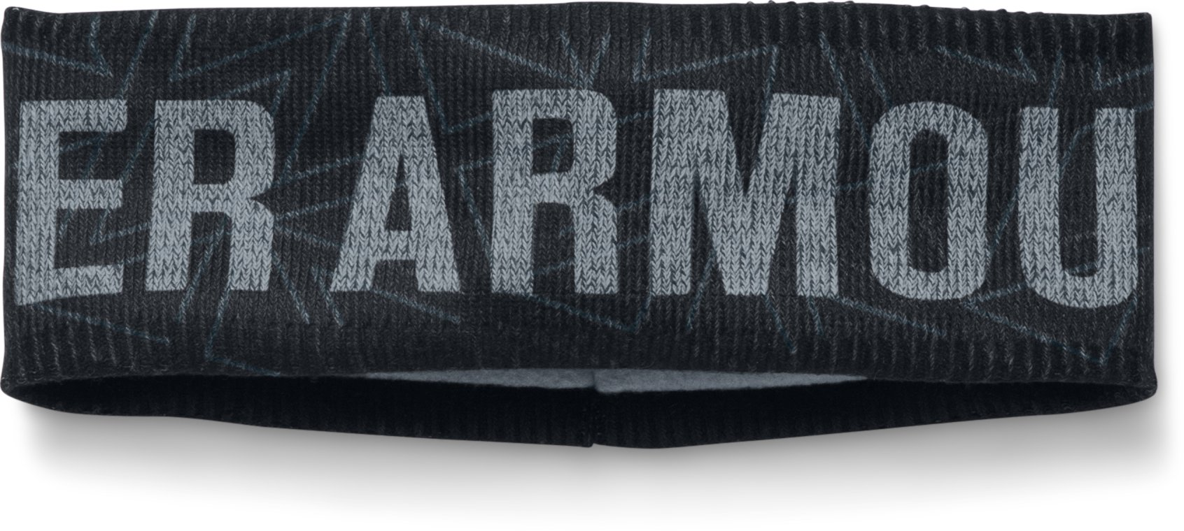Girls' UA Graphic Fleece Headband, Black