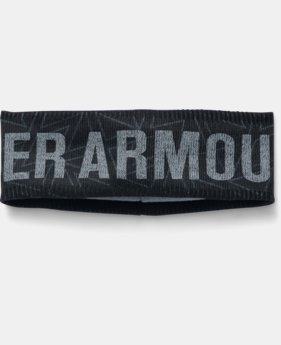 Girls' UA Graphic Fleece Headband   $19.99