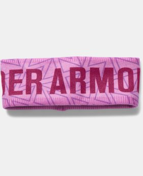 Girls' UA Graphic Fleece Headband  2 Colors $22.99