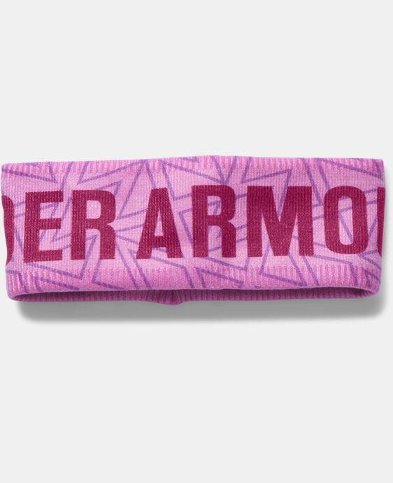 Girls' UA Graphic Fleece Headband LIMITED TIME: FREE SHIPPING 1 Color $22.99