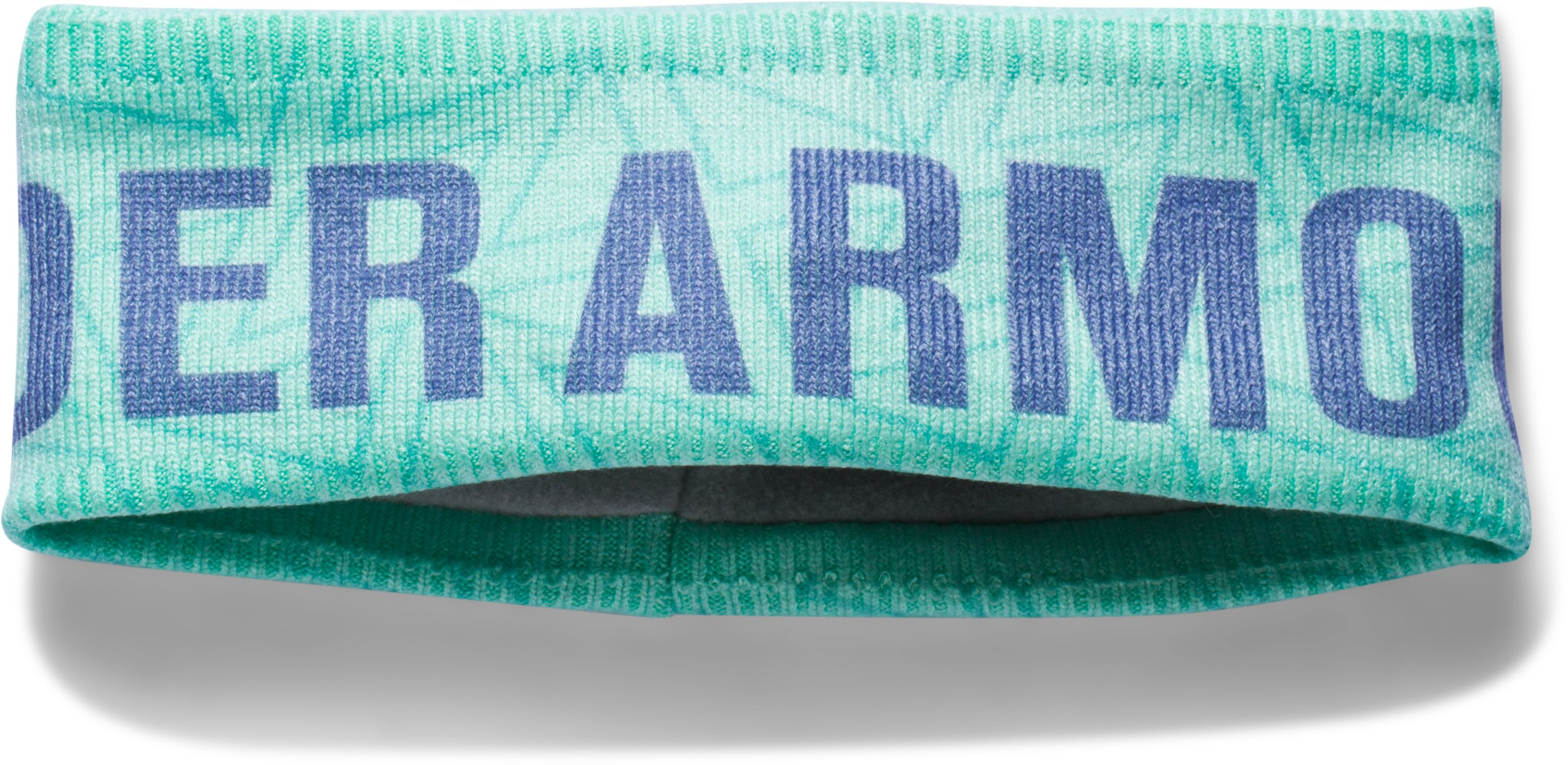 Girls' UA Graphic Fleece Headband, CRYSTAL, zoomed image