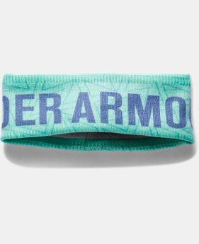 Girls' UA Graphic Fleece Headband LIMITED TIME: FREE U.S. SHIPPING 3 Colors $19.99