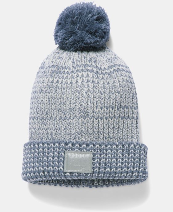 New Arrival Girls' UA Shimmer Pom Beanie LIMITED TIME: FREE U.S. SHIPPING 4 Colors $24.99