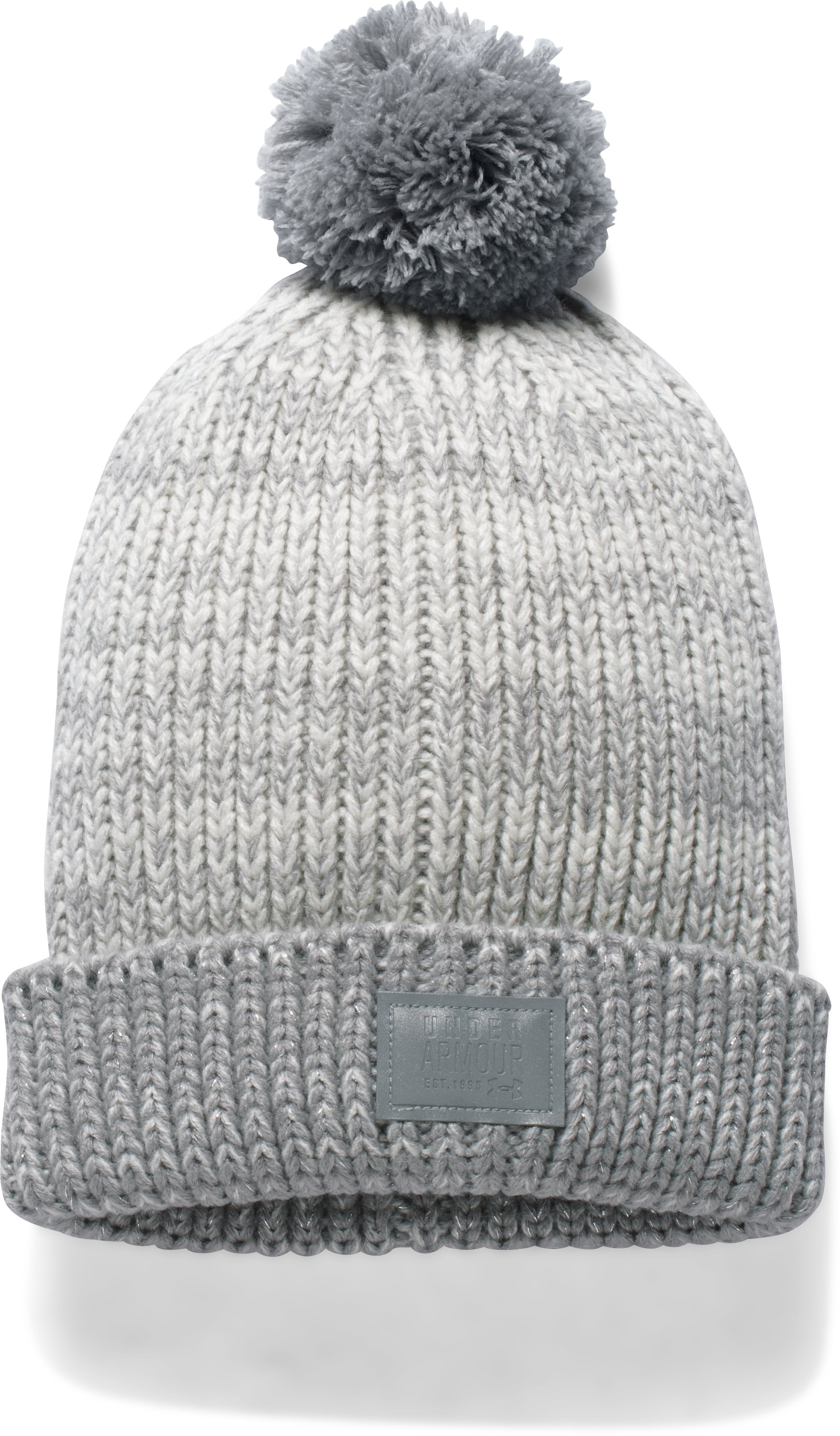 colored beanies Girls' UA Shimmer Pom Beanie Nice Quality/Pretty <strong>Color</strong>