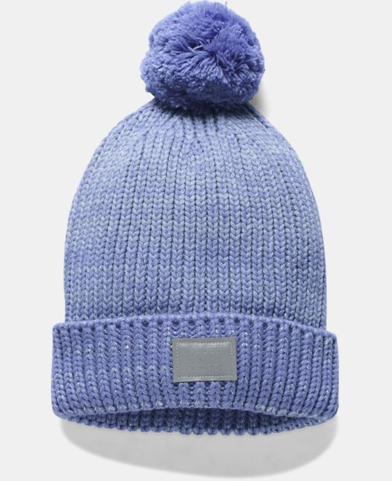 New Arrival Girls' UA Shimmer Pom Beanie LIMITED TIME: FREE U.S. SHIPPING 1 Color $24.99