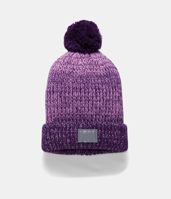 46f228402 Girls' UA Shimmer Pom Beanie | Under Armour US