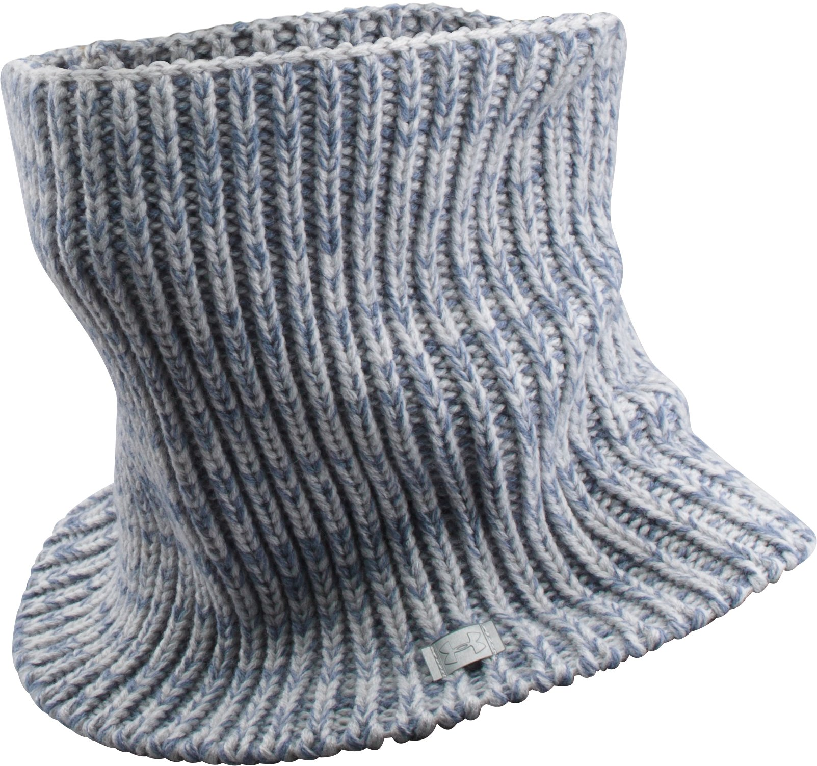 Girls' UA Infinity Scarf, GLACIER GRAY, zoomed image