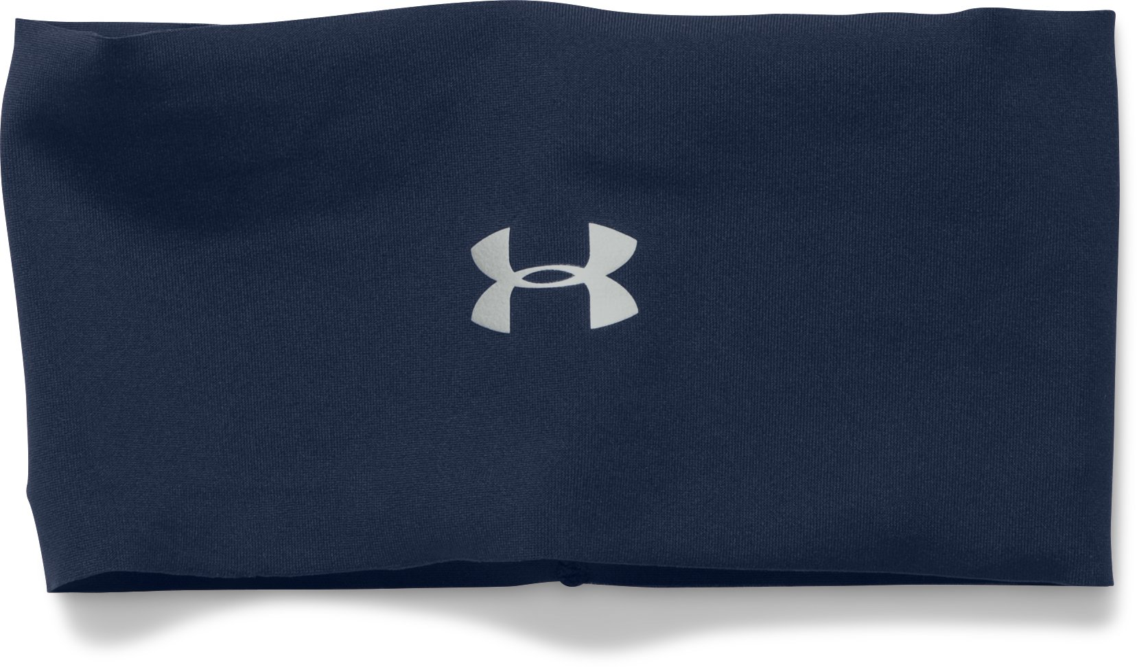 Women's UA Solid Boho Headband, Midnight Navy, zoomed image
