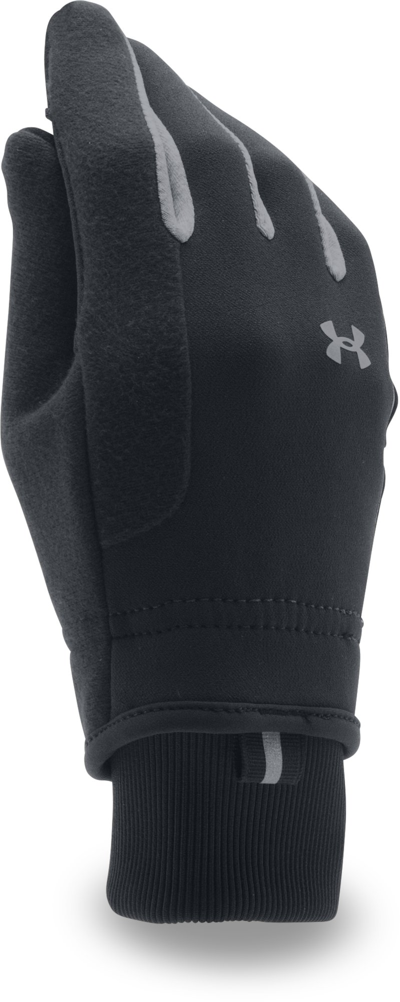 Women's UA No Breaks ColdGear® Infrared Softshell Glove, Black