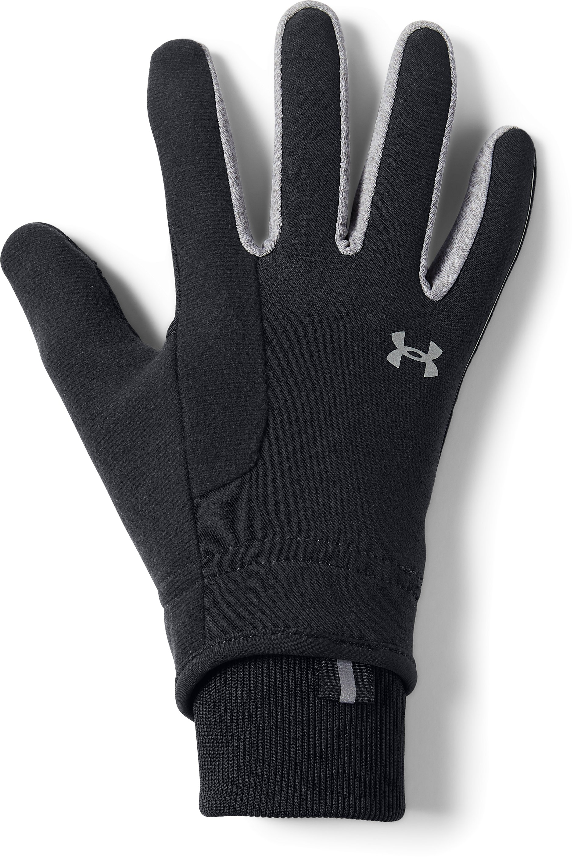 Women's UA No Breaks ColdGear® Infrared Softshell Glove, Black ,