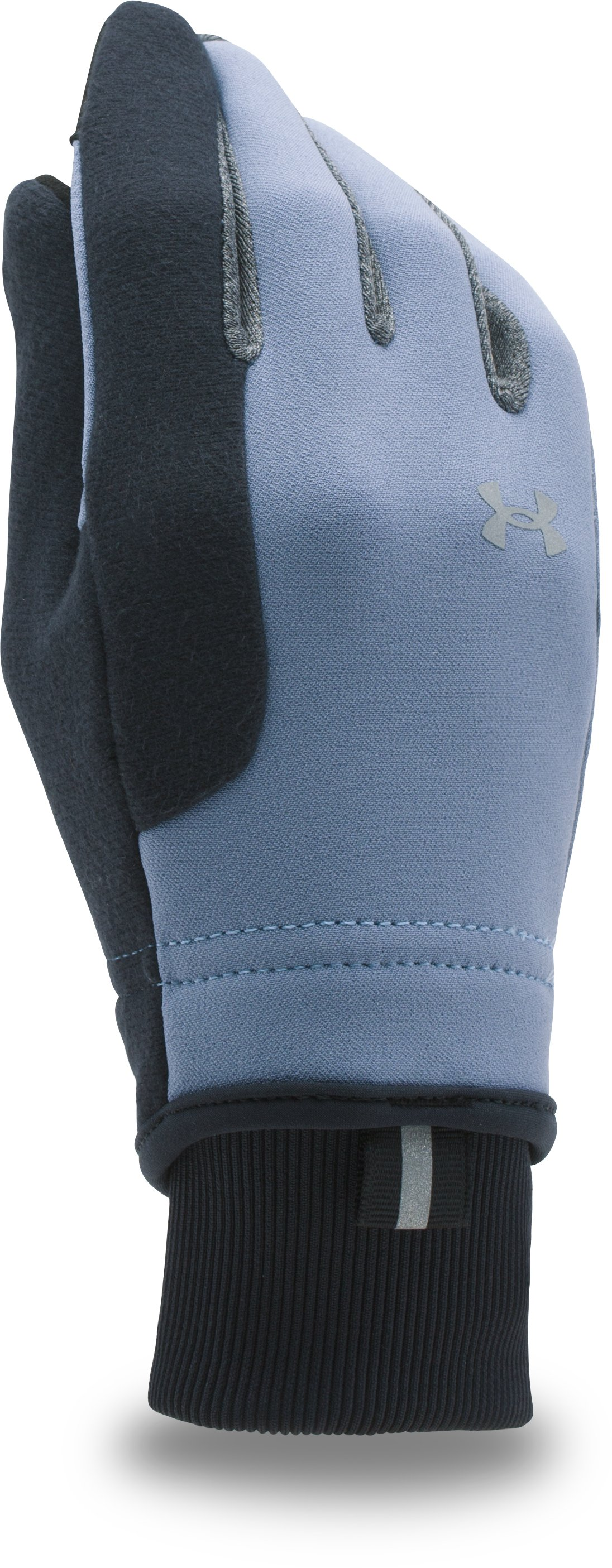 Women's UA No Breaks ColdGear® Infrared Softshell Glove, AURORA PURPLE