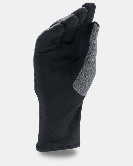 Women's UA ColdGear® Infrared Fleece Gloves, Black, pdpMainDesktop image number 1