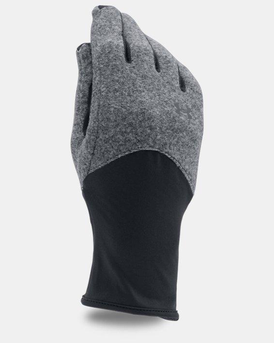 Women's UA ColdGear® Infrared Fleece Gloves, Black, pdpMainDesktop image number 0
