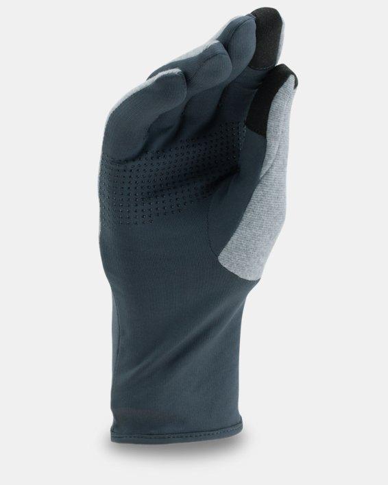 Women's UA ColdGear® Infrared Fleece Gloves, Gray, pdpMainDesktop image number 1