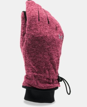 New Arrival  Women's UA Elements Fleece Glove LIMITED TIME: FREE SHIPPING 2 Colors $44.99