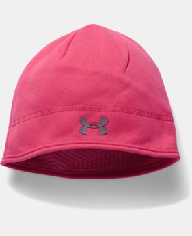 Women's UA Elements Fleece Beanie  1 Color $29.99