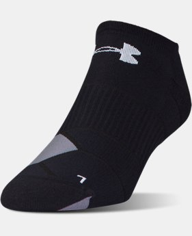 New Arrival Men's UA Launch No Show Running  Socks 3 for $30  2 Colors $12.99