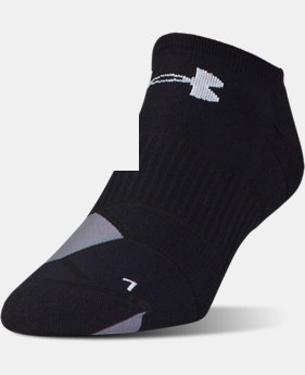 New Arrival Men's UA Launch No Show Running  Socks 3 for $30  4 Colors $12.99
