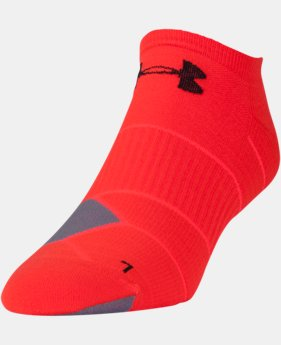 New Arrival Men's UA Launch No Show Running  Socks 3 for $30  1 Color $12.99
