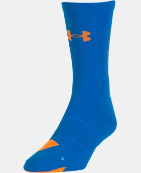 New Arrival Men's UA Reflective Crew Socks  1 Color $19.99