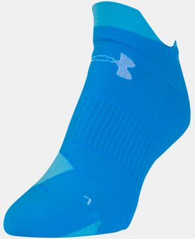 Women's UA Run No Show Tab Socks  2 Colors $12.99