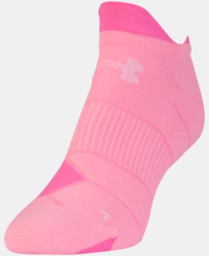 Women's UA Run No Show Tab Socks LIMITED TIME: FREE U.S. SHIPPING 1 Color $12.99